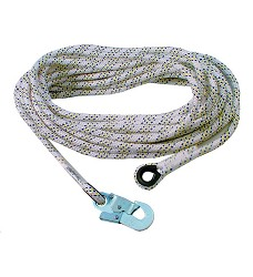 Bezpečnostní lano AC 100 s karabinou, 10 m