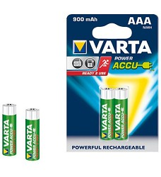VARTA baterie  AAA  Ready2U  (už nabité) mikrotužkové (HR03) NiMH 900mAh, 1,2V