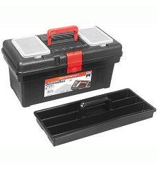 Kufr plastový 415mm se zásobníkem P1400 + organizér ve víku