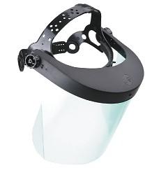 Štít celoobličejový Vision 2000 polykarbonát, 5891,náhlavní držák + zorník,, MAXSHIELD