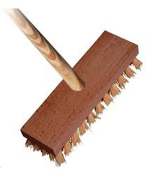 Kartáč podlahový dřevěný 4224/861 s holí 140cm SPOKAR 422 6109