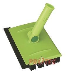 Kartáč na hůl s gumovou stěrkou GREEN LINE GL06