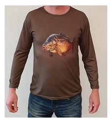 Tričko ARC 4036 dlouhý rukáv pro myslivce a rybáře kapr