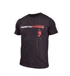 Triko RODIN NORTHFINDER TR-31771OR pánské černé