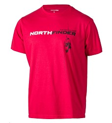 Triko KAMRON NORTHFINDER TR-3177OR pánské červené