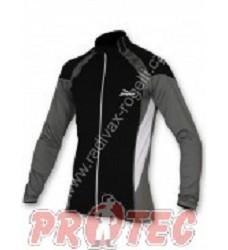 Cyklistický dres RIMINI pánský dlouhý rukáv golden label černá