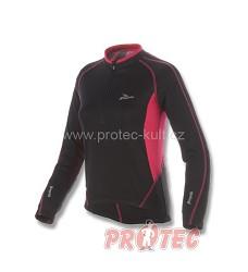 Cyklistický dres dámský ROGELLI APRILLIA 010.056 dl.ruk. černá/růžová