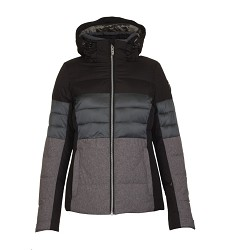Bunda FAYTH KILLTEC dámská zimní lyžařská prodyšná voděodolná black/gray