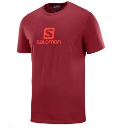 Triko SALOMON coton SS TEE pánské red