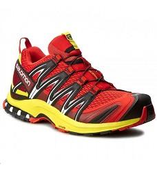 Obuv Salomon XA PRO 3D běžecká Fiery Red/Sulphur Spring/Black