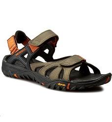 Obuv Merrell J32839 All Out Blaze Sieve Convertible pánské sandály svěle hnědé