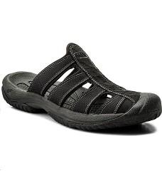 Pantofle KEEN ARUBA II pánské black-gargoyle