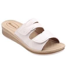 Pantofle INBLU dámské FC 42-001 bílé