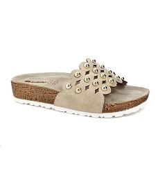 Pantofle INBLU dámské NM 23-030 béžové