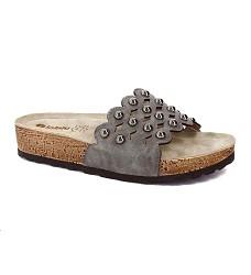Pantofle INBLU dámské NM 23-045 šedé