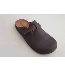 Pantofle INBLU pánské 35 19-043 hnědé