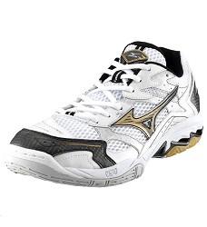 Mizuno Wave Spike 12 unisex sportovní obuv, bílá/černá