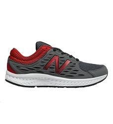 Obuv NEW BALANCE pánské běžecké sklon 10mm grey/red