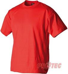 Triko BA krátký rukáv 160g/m2-červené