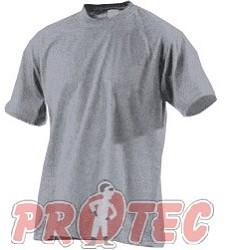 Triko BA krátký rukáv150g/m2- šedý melír