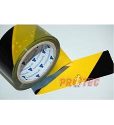 B.t.sam.Páska žlutá/černá 5cm protisměrná/ 66m