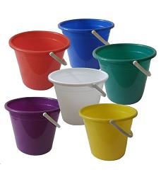 Vědro plastové 10l mix barev LAZET
