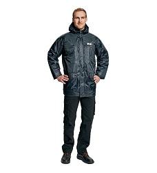 Bunda  zinmí ATLAS, pracovní zimní s odnímatelnou kapucí, voděodolná
