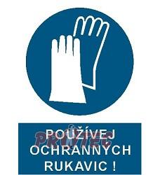 B.t.plast Používej ochranných rukavic A4