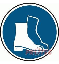 B.t.plast Nosit ochrannou obuv 20cm
