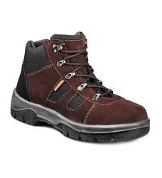 GOBI LUX 02 kotníková trekking obuv,olejivzdorná, antistaická podešev, hnědá