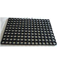 Rohož gumová děrovaná 400x600 HONEY