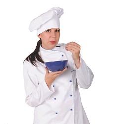 Kuchařský baret vzor 0733, bílý