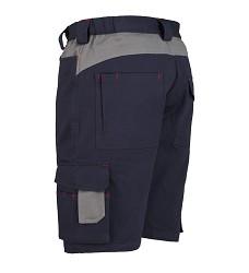 Kalhoty krátké-bermudy stretch 8734, -modré-040, 97% bavlna +3% spandex,, IS