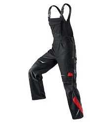 Montérkové kalhoty KÜBLER laclové černé 80858