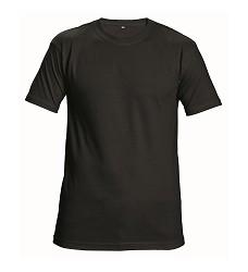 Triko GARAI pánské, krátký rukáv černé