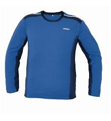Triko ALLYN s dlouhým rukávem, 95% BA, modro/černé, 95% bavlna, 5% elasten